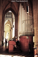 Organ in the church. So magnificent!